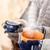 içmek · duman · kırmızı · çay · Retro - stok fotoğraf © candyboxphoto
