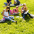 students studying sitting in the park teens stock photo © candyboxphoto