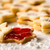 christmas cookie stars with strawberry jam stock photo © candyboxphoto