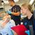 paramedics examining injured patient in ambulance stock photo © candyboxphoto