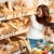 grocery store shopping   brown hair woman with child stock photo © candyboxphoto