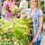 smiling woman at garden center shopping plants stock photo © candyboxphoto