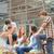 молодые · Одноклассники · позируют · за · пределами · здании · любви - Сток-фото © candyboxphoto