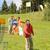 jugando · hierba · parque · familia - foto stock © candyboxphoto