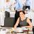 笑みを浮かべて · ビジネス女性 · 会社 · ランチ · ビュッフェ · ホールド - ストックフォト © candyboxphoto