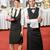ビジネス女性 · ビュッフェ · ケータリング · サービス · 会社 · イベント - ストックフォト © candyboxphoto