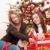 dos · mujer · Navidad · presente · árbol - foto stock © candyboxphoto