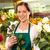 florista · mujer · aumentó · ramo · cliente - foto stock © candyboxphoto
