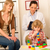 pediatrician mother daughter playing at office stock photo © candyboxphoto