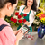 mujer · florista · de · trabajo · flores · rosas · mercado - foto stock © candyboxphoto