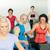 fitness · instrutor · esteira · corrida · classe - foto stock © candyboxphoto