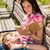 casal · para · baixo · parque · mulher · flores · feliz - foto stock © candyboxphoto