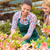 garden center woman show flowers to customer stock photo © candyboxphoto