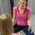 woman sitting opposite friend in changing room stock photo © candyboxphoto