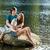para · trzymając · się · za · ręce · odkryty · jezioro · uśmiechnięty · człowiek - zdjęcia stock © candyboxphoto