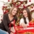 two women packing christmas present stock photo © candyboxphoto