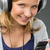 teenage girl checking her mobile phone smiling stock photo © candyboxphoto