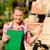 tuin · werknemer · afbeelding · vrouwelijke · landbouwer · zaaien - stockfoto © candyboxphoto
