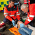emergência · equipe · ajuda · ferido · motocicleta · motorista - foto stock © candyboxphoto