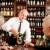 wine bar senior couple barman pour glass stock photo © candyboxphoto