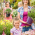 garden center woman with girl buying flowers stock photo © candyboxphoto