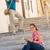 przypadkowy · młodych · kobiet · czytania · instrukcje · przewodnik - zdjęcia stock © candyboxphoto