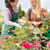 two women talking about plants garden center stock photo © candyboxphoto