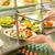 buffet · froid · salade · alimentaire · dîner · déjeuner - photo stock © candyboxphoto