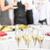 デザート · シャンパン · 会議 · 参加者 · 営業会議 · 会議 - ストックフォト © candyboxphoto