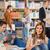 колледжей · студентов · цифровой · библиотека · группа · книга - Сток-фото © candyboxphoto