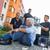 чрезвычайных · команда · бессознательный · человека · улице · старший - Сток-фото © candyboxphoto