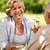 senior couple celebrate outdoors happy retirement stock photo © candyboxphoto