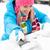 vrouw · auto · windscherm · borstel · sneeuw · winter - stockfoto © candyboxphoto