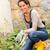 woman gardening yard housework flowerbed hobby tools stock photo © candyboxphoto