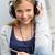 vrolijk · meisje · tiener · luisteren · muziek - stockfoto © candyboxphoto