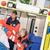 beteg · beteg · mentős · mentő · kezelés · mentők - stock fotó © candyboxphoto