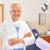 maduro · dentista · cirujano · oficina · retrato · posando - foto stock © candyboxphoto