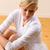 красивой · балерины · сидят · студию · полу · женщину - Сток-фото © candyboxphoto