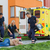 paramedical team arriving to unconscious elderly man stock photo © candyboxphoto