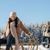 portrait · femme · hiver · paysages · ciel · sexy - photo stock © candyboxphoto