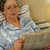 retired woman reading newspaper before sleeping stock photo © candyboxphoto