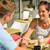 カップル · 手をつない · カフェ · 幸せ · 女性 - ストックフォト © candyboxphoto
