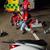 motor · bestuurder · gewond · vrouw · nacht - stockfoto © candyboxphoto