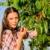 девушки · Вишневое · стороны · девочку · ребенка · фрукты - Сток-фото © candyboxphoto