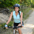 woman enjoy recreational mountain biking stock photo © candyboxphoto