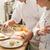 kadın · fırıncı · erkek · pişirmek · mutfak - stok fotoğraf © candyboxphoto