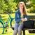 świeże · młodych · student · dziewczyna · parku · portret - zdjęcia stock © candyboxphoto