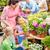 gelukkig · vrouw · bloemen · broeikas · mensen · tuinieren - stockfoto © candyboxphoto