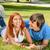 mutlu · çift · açık · havada · kadın - stok fotoğraf © candyboxphoto