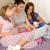 três · mulheres · jovens · assistindo · filme · sessão - foto stock © candyboxphoto